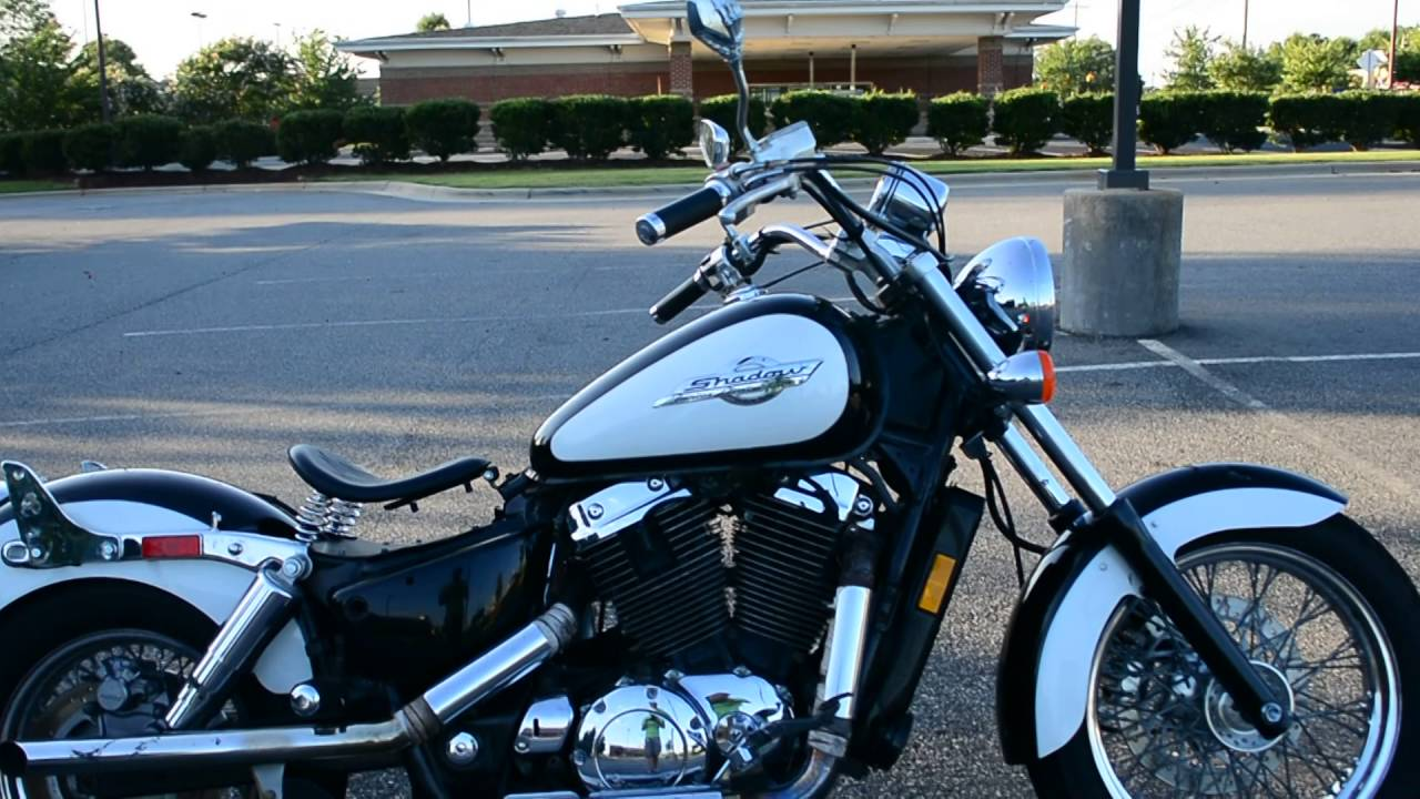 small resolution of  hd 1996 honda shadow ace 1100 walk around and start up