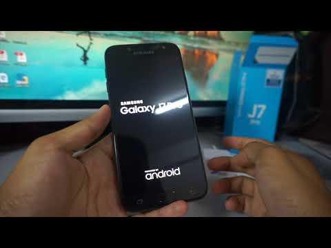 Samsung J7 Pro Unboxing Malaysia Set