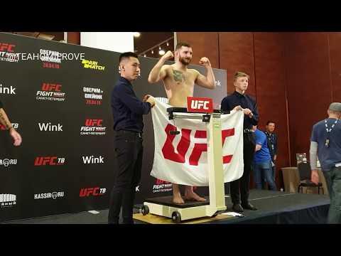 Хабиб помогает И�ламу, Оверим т�желее Олейника - взвешивани� на UFC // UFC SPb Weigh-In