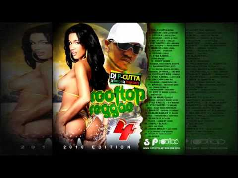 DJ P-Cutta - Rooftop Reggae Vol. 4 (Dancehall, Hip-Hop Mixtape 2010)