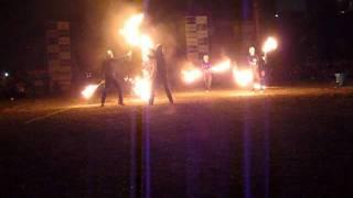 第61回大須夏祭り fire torch?