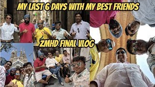 MY LAST 6 DAYS WITH FRIENDS, UNCENSORED, ZMHD Final VLOG, #GTUVlog #75