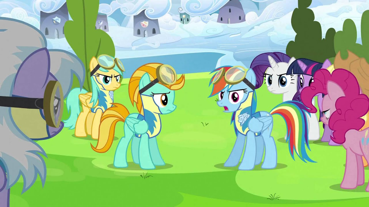 sc 1 st  YouTube & Rainbow Dash stands up to Lightning dust - YouTube azcodes.com