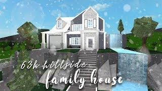 Roblox | Bloxburg: Hillside Family House | Speedbuild