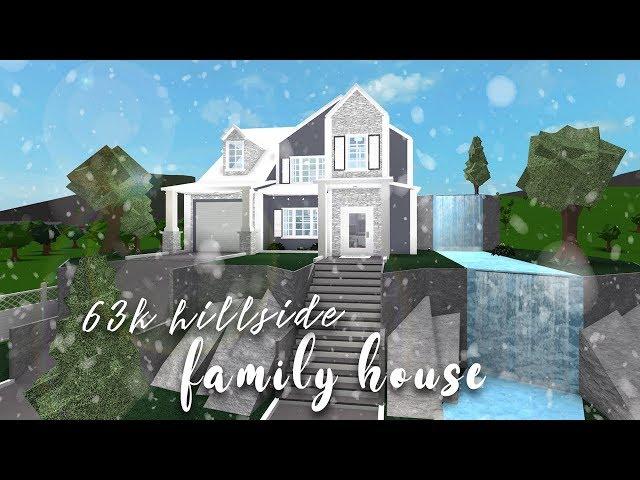 Tropical Island Beach Ambience Sound: Bloxburg: Hillside Family House