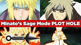Why Minato's Sage Mode & 9 Tails Mode (KCM) is BULLSH*T - Naruto & Boruto Plot Hole Explained