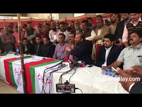 Government departments cheated the poor citizens of Karachi. Cheif MQM Pakistan Farooq Sattar