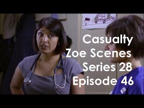 Casualty Zoe Scenes - Series 28 Episode 46