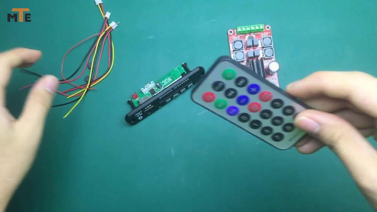 LCCN || Hướng dẫn đấu nối mạch giải mã âm thanh bluetooth