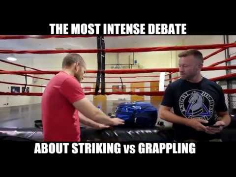 Striking vs Grappling: The Ultimate Super Serious Battle