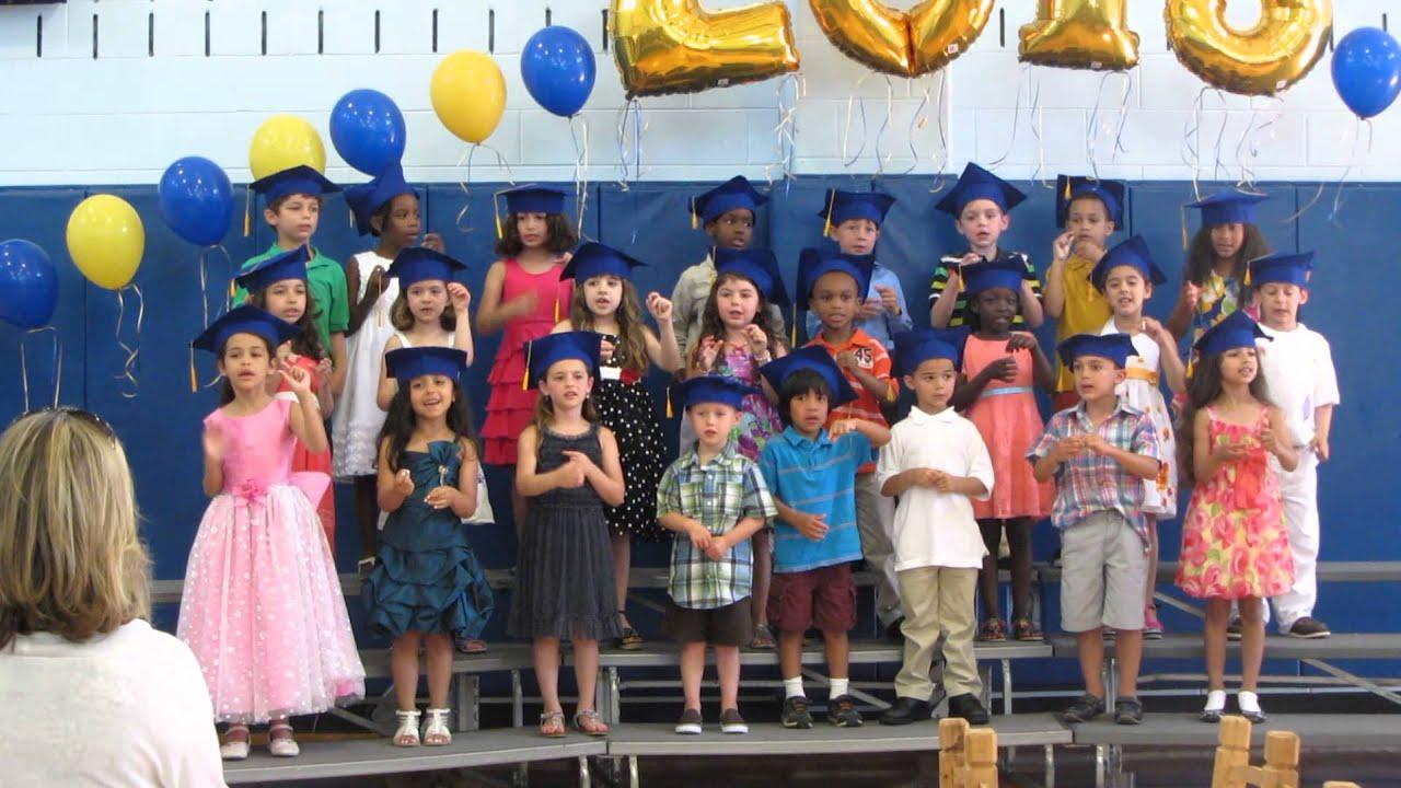 Alyssa Kindergarten Graduation Song June 17 2013