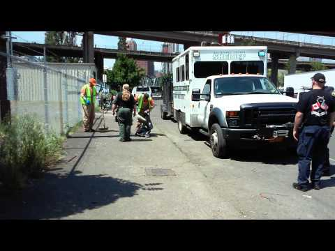 Multnomah County Sheriff Use Prisoners To Evict The Homeless