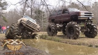 STUCK, BROKE AND SLINGIN MUD