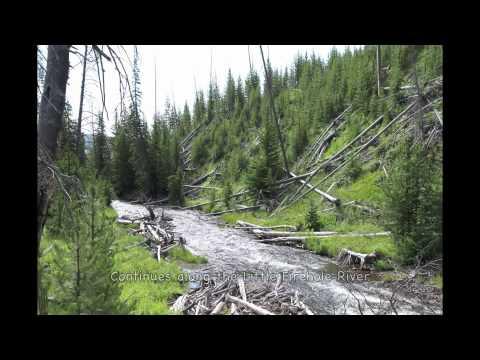 MYSTIC FALLS TRAIL YELLOWSTONE by starbeamreflection