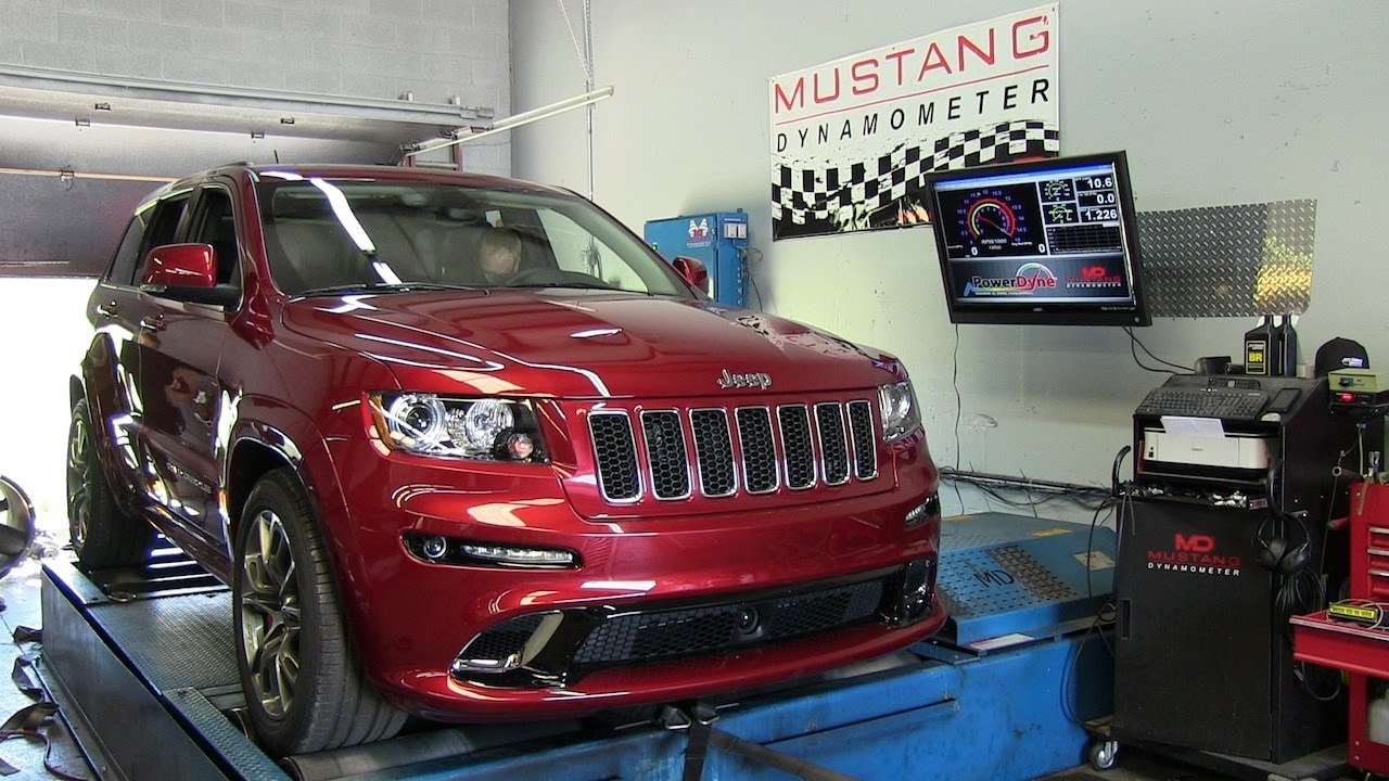 Dyno test: 2012 Jeep Grand Cherokee SRT8 at 1 mile above ...