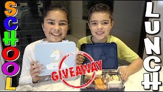Back to School | Packing Our Bento Lunch Box and Giveaway!