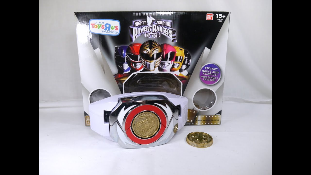 Review: Legacy Power Morpher White Ranger Edition (Mighty