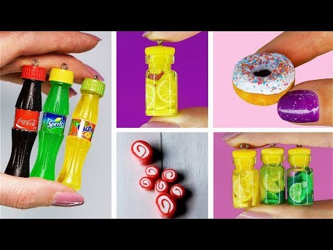 11 mini Charm - Cutest Jewelry DIY! MINI CHARMS IN A BOTTLE! Epoxy resin jewelry