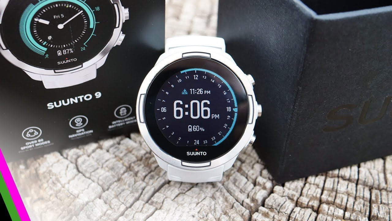12464fa873a436 Suunto 9 Unboxing and First Impressions - INSANE GPS Battery Life ...