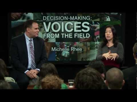 Michelle Rhee, Former Chancellor of Washington D.C. Public Schools