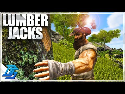 From Cowboys to Lumberjacks!  - Ark Survival Evolved - Part 2 (Primitive Plus)