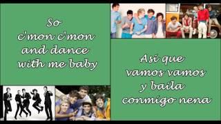 C'mon C'mon - One Direction (Letra en ingles y español)