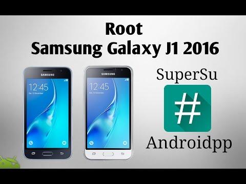 Root Samsung Galaxy J1 2016