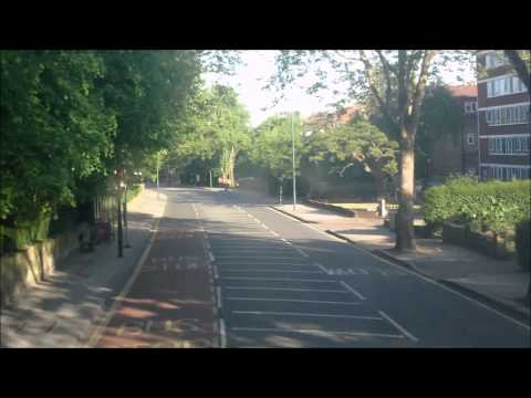 London Bus Route N98 - Entire Route HD