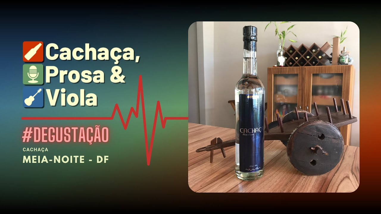 #degustação - Cachaça Meia-Noite