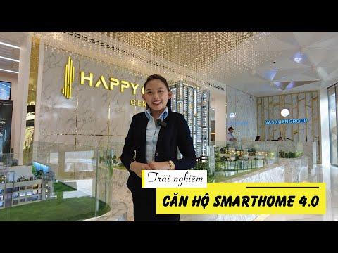 Trãi nghiệm thực tế căn hộ SmartHome tại dự án HAPPYONE CENTRAL