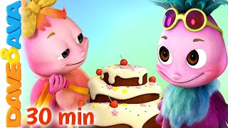 🎈 Incy Wincy Spider and More Nursery Rhymes and Kids Songs | Dave and Ava 🎈