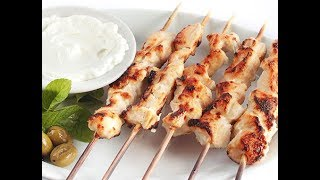 КУРИНЫЙ ШАШЛЫК в духовке  ШИШТАУК  Арабская кухня