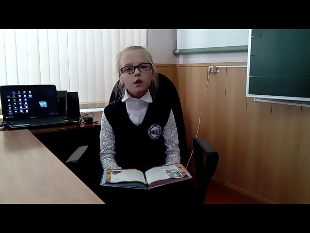 Изображение предпросмотра прочтения – МарияВолкова читает произведение «Посидим в тишине» Е.А.Благининой