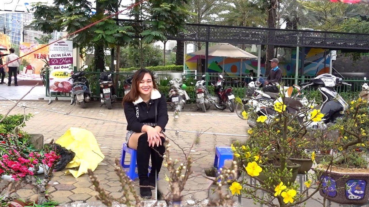 Chưa gặp ai giảm giá nhiều như thế này, cây cảnh tràn ngập Mỹ Đình – Spring fair in My Dinh, bonsai