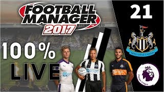 Preparing For Season 2! | FM17 100% Live Let's Play | Newcastle United #21 | Football Manager 2017