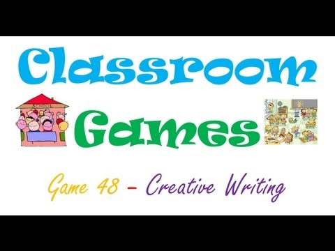 Classroom Games (48) Creative Writing