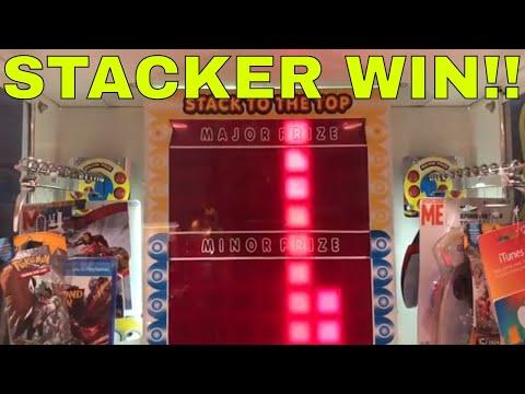 Stacker Redemption Game Prize Winner - Arcade Adventures 467