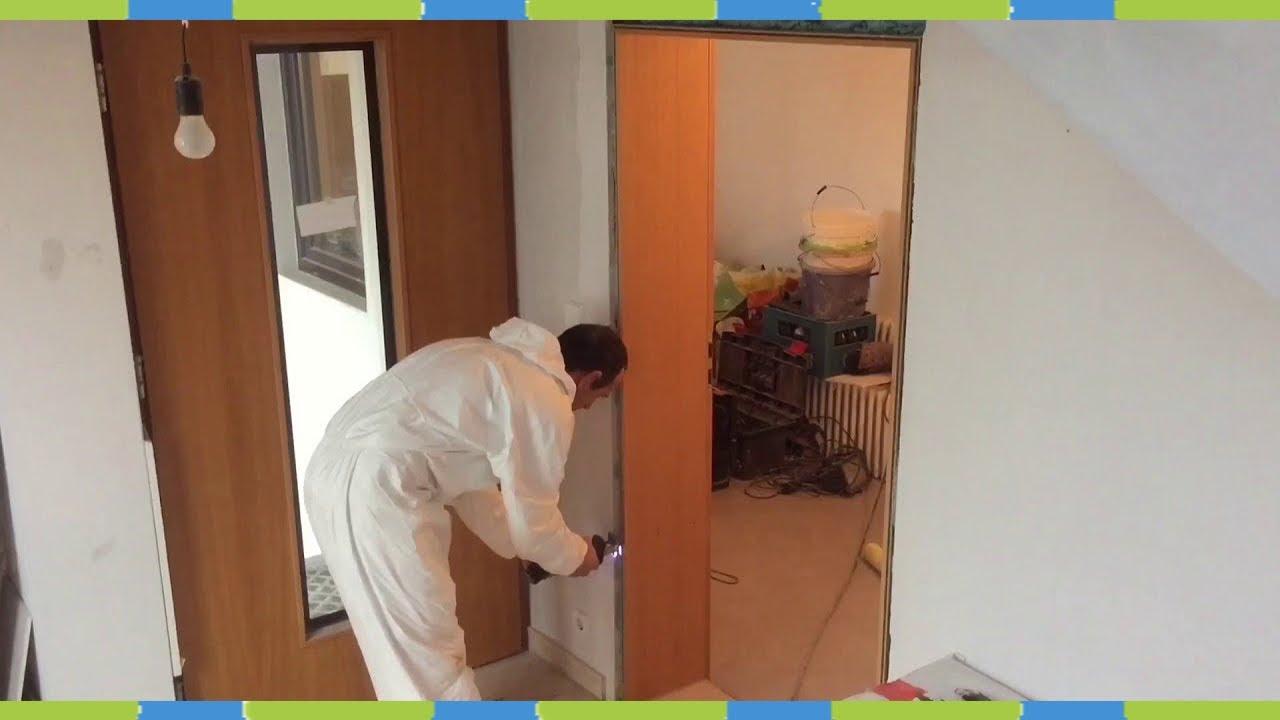 Ture Ausbauen Wohnungstur Bauschaum Trennen Youtube