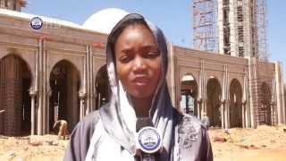 Dakar: L'etat des travaux de la Mosquee Massalikul Jinaan (Fev. 2014)