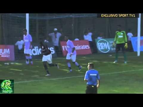 Alex Splendid Header Goal | AC Milan vs Lugnano | Friendly Match 2015 HD