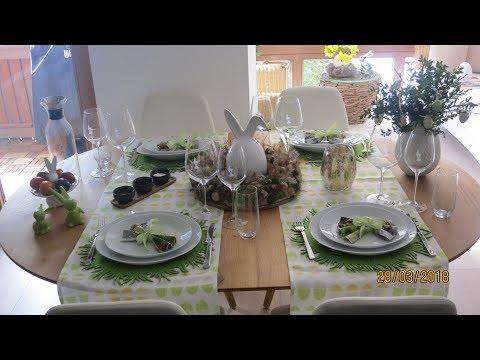 Vorschläge für österliche Tischdekoration