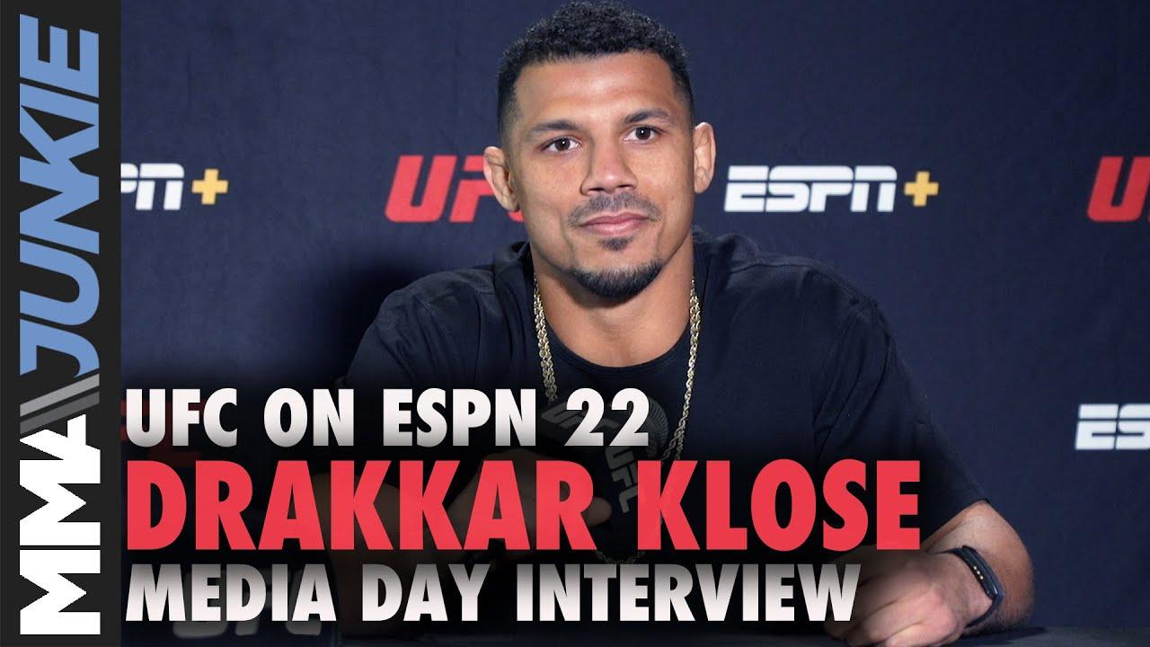 Jeremy Stephens vs. Drakkar Klose off UFC on ESPN 22; Klose ...
