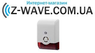 распаковка комнатной сирены z wave visezm1601 5