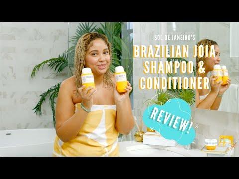 REVIEW: Sol de Janeiro Brazilian Joia Shampoo & Conditioner with Christine