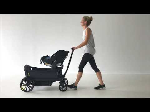 Veer Cruiser Stroller Wagon - Attaching A Car Seat
