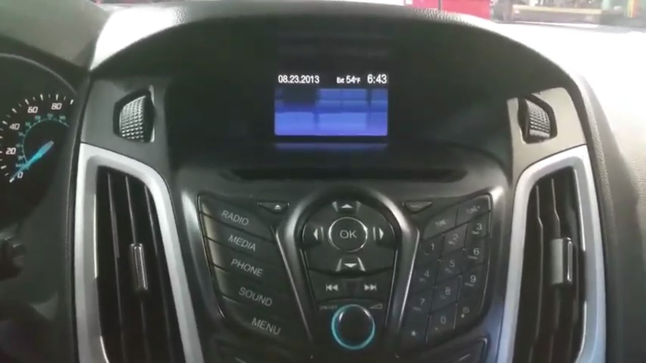 2014 Ford Focus Radio Problem Radio Is Not Working How To Remove