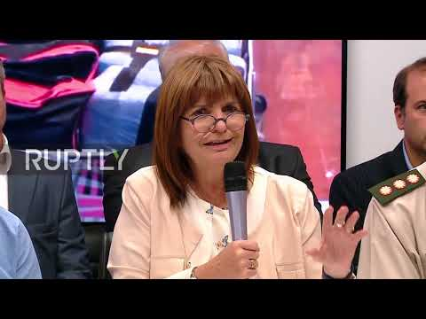 Argentina: Minister briefs press on $62 million Russian embassy cocaine bust