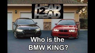 The BEST BMW Under $30k! M3 vs 335i Head to Head