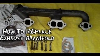 ✇ How To Replace Exhaust Manifold Chevy 400 ; Half Idiots Guide