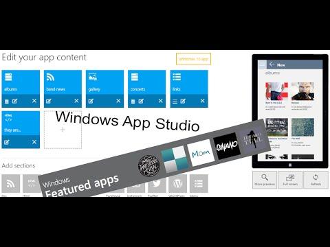 Building Universal Windows Apps with No Code in Microsoft App Studio - FBI-APPS 138014610